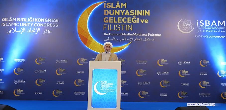 امروزهویت امت اسلامی در خطر است/ فلسطین و مسجد الاقصی متعلق به کل امت اسلامی است