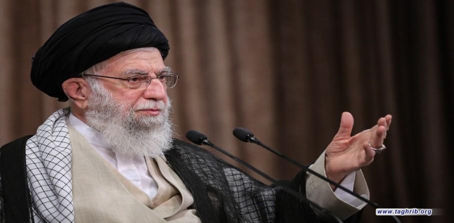 الإمام الخامنئي في حفل تكريم مجاهدي مرحلة الدفاع المقدّس: الشعب الإيراني أثبت في مرحلة الدفاع المقدس أن أي اعتداء على البلاد سيلقى ردّاً مدوّياً
