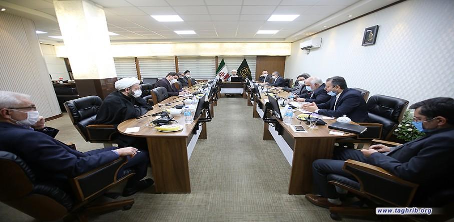 الدكتور شهرياري يدعو لليقظة لبناء الامة الاسلامية الواحدة والتقريب بين المذاهب ونبذ الصراعات