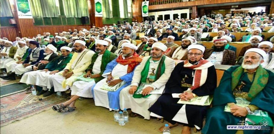 علماء اليمن يدعون الى الوحدة الإسلامية وجمع الكلمة وتوحيد الصف ونبذ كل أشكال العنف والتطرف + صور