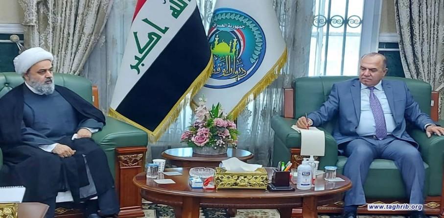 رییس دیوان وقف سنی عراق: دیوان وقف به صورت علنی علیه اسرائیل موضع می گیرد