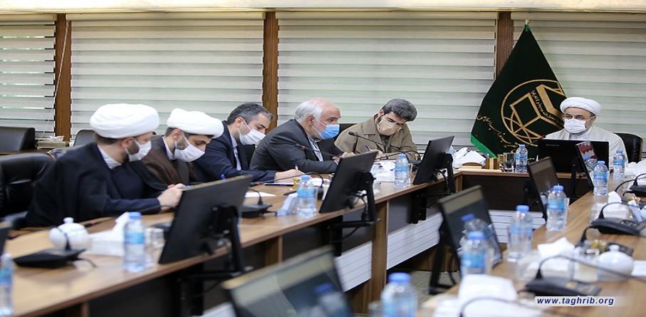 جلسه هماهنگی وبینار بزرگداشت شهید مولوی ایاز نیازی با حضور دبير كل مجمع تقريب
