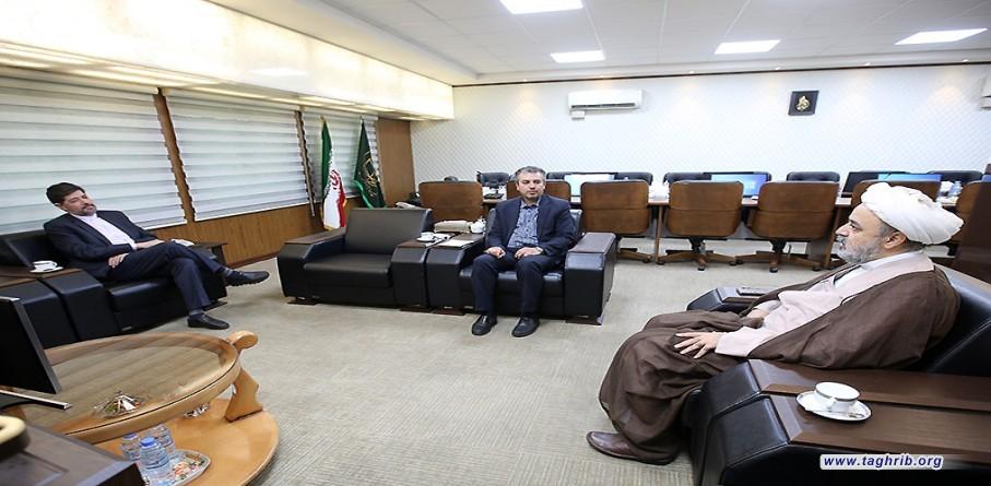 لقاء المستشار الثقافي الإيراني باليونان مع الأمين العام للمجمع العالمي للتقريب بين المذاهب الاسلامية