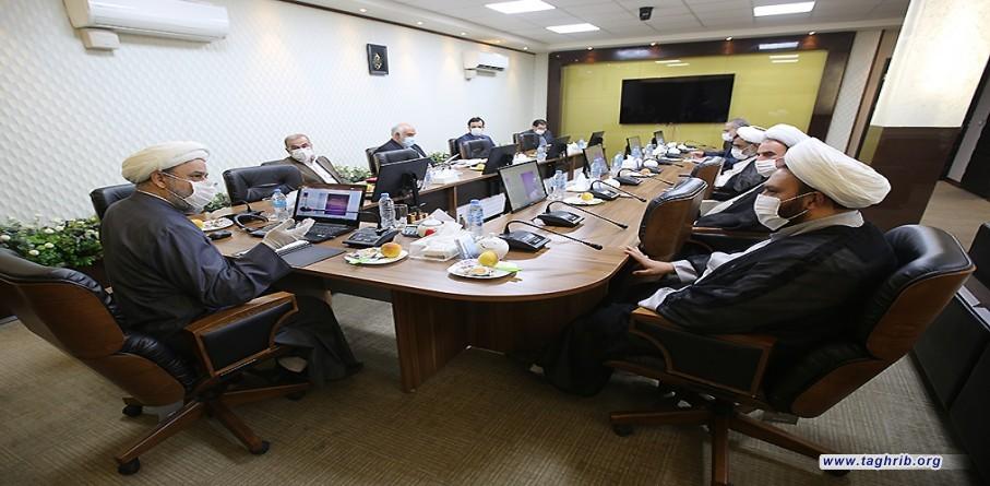 اجتماع الهيئة العلمية للمؤتمر الدولي الرابع والثلاثون للوحدة الاسلامية