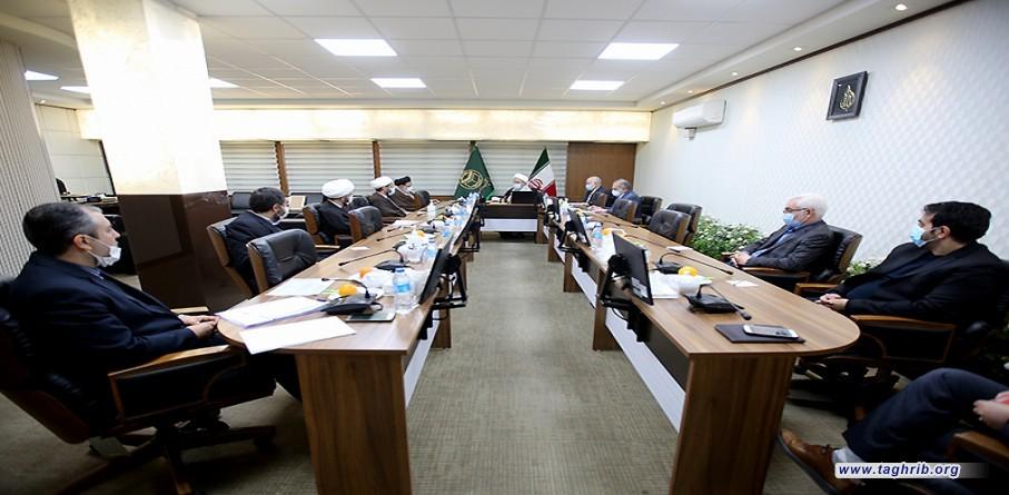 """حجة الاسلام و المسلمين الدكتور """"حميد شهرياري""""يشارك في اجتماع معاوني المجمع"""