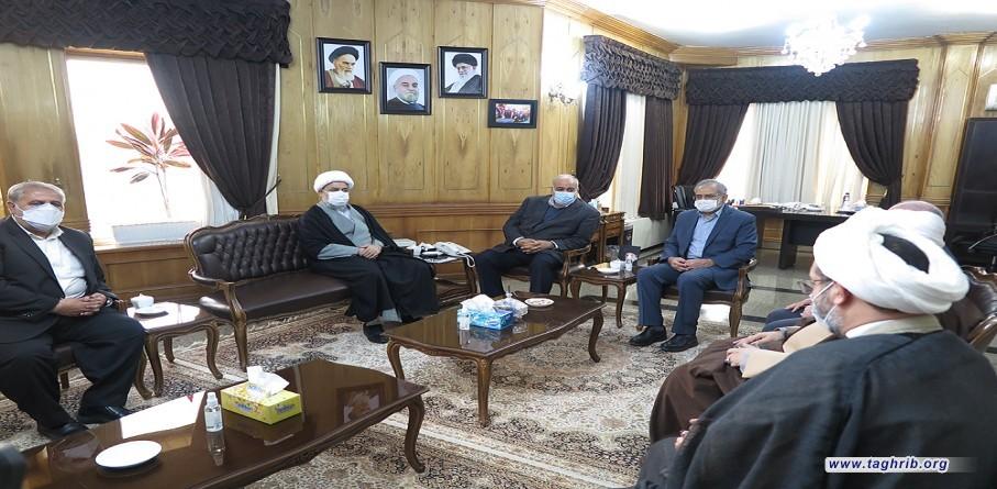 الأمين العام الدكتور شهرياري يلتقي محافظ كرمانشاه